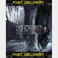 Dishonored Definitive Edition  Fast Delivery ⌛  Steam CD Key   Worldwide  