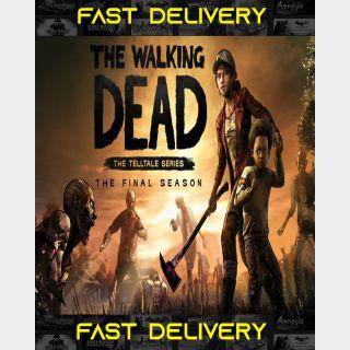 The Walking Dead The Final Season | Fast Delivery ⌛| Steam CD Key | Worldwide |