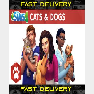 The Sims 4 Cats And Dogs | Fast Delivery ⌛| Origin CD Key | Worldwide |