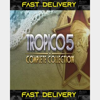 Tropico 5 Complete Collection | Fast Delivery ⌛| Steam CD Key | Worldwide |