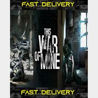 This War of Mine  Fast Delivery ⌛  Steam CD Key   Worldwide  