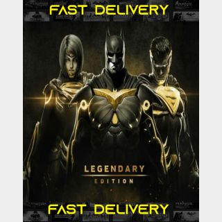 injustice 2 Legendary Edition | Fast Delivery ⌛| Steam CD Key | Worldwide |