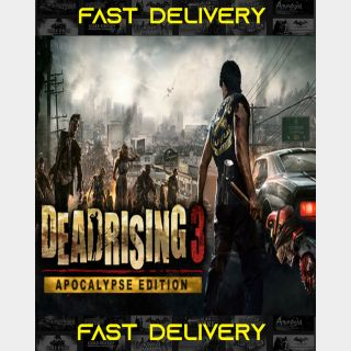 Dead Rising 3 Apocalypse Edition | Fast Delivery ⌛| Steam CD Key | Worldwide |