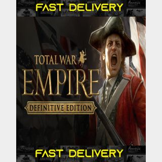 Total War Empire - Definitive Edition | Fast Delivery ⌛| Steam CD Key | Worldwide |