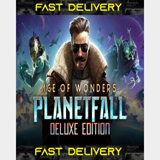Age Of Wonders Planetfall Deluxe Edition | Fast Delivery ⌛| Steam CD Key | Worldwide |