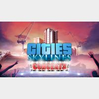 Cities Skylines Concerts   Fast Delivery ⌛  Steam CD Key   Worldwide  