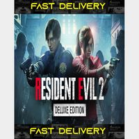 Resident Evil 2 Remake Deluxe | Fast Delivery ⌛| Steam CD Key | Worldwide |