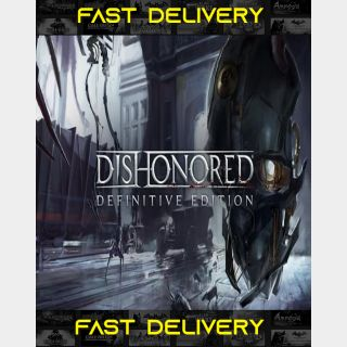 Dishonored Definitive Edition | Fast Delivery ⌛| Steam CD Key | Worldwide |