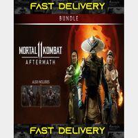 Mortal Kombat 11 Base Game + Aftermath + Kombat Pack   Fast Delivery ⌛  Steam CD Key   Worldwide  