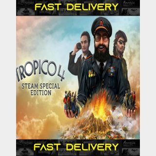 Tropico 4 Special Edition| Fast Delivery ⌛| Steam CD Key | Worldwide |