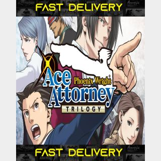 Phoenix Wright Ace Attorney Trilogy | Fast Delivery ⌛| Steam CD Key | Worldwide |