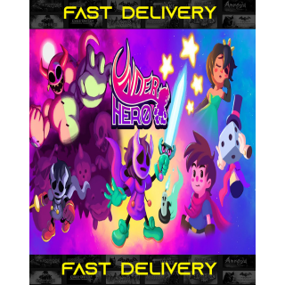 Underhero| Fast Delivery ⌛| Steam CD Key | Worldwide |