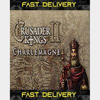 Crusader Kings II Charlemagne   Fast Delivery ⌛  Steam CD Key   Worldwide  