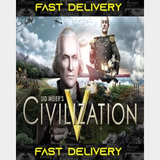 Sid Meier's Civilization V   Fast Delivery ⌛  Steam CD Key   Worldwide  