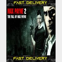 Max Payne 2 The Fall of Max Payne | Fast Delivery ⌛| Steam CD Key | Worldwide |