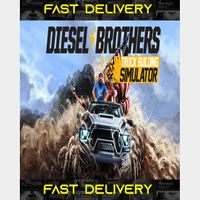 Diesel Brothers Truck Building Simulator| Fast Delivery ⌛| Steam CD Key | Worldwide |