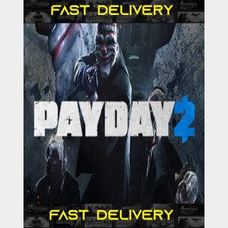 Payday 2| Fast Delivery ⌛| Steam CD Key | Worldwide |