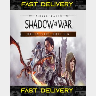 Middle Earth Shadow of War Definitive Edition| Fast Delivery ⌛| Steam CD Key | Worldwide |