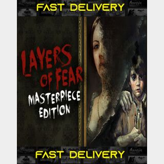 Layers of Fear - Masterpiece Edition| Fast Delivery ⌛| Steam CD Key | Worldwide |