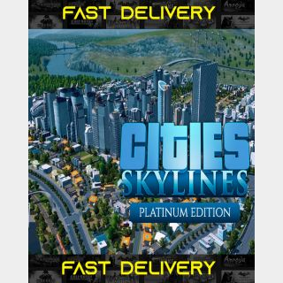 Cities Skylines Platinum Edition | Fast Delivery ⌛| Steam CD Key | Worldwide |