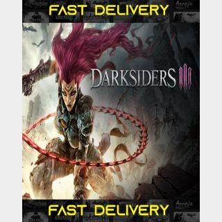 Darksiders III 3    Fast Delivery ⌛  Steam CD Key   Worldwide  