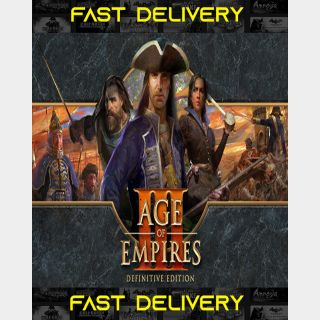 Age Of Empires III Definitive Edition | Fast Delivery ⌛| Steam CD Key | Worldwide |