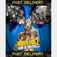 Borderlands 2 GOTY - Game Of The Year Edition   Fast Delivery ⌛  Steam CD Key   Worldwide  