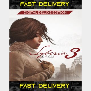 Syberia 3 - Deluxe Edition| Fast Delivery ⌛| Steam CD Key | Worldwide |
