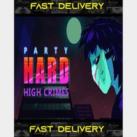 Party Hard High Crimes| Fast Delivery ⌛| Steam CD Key | Worldwide |