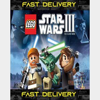 Lego Star Wars III The Clone Wars | Fast Delivery ⌛| Steam CD Key | Worldwide |