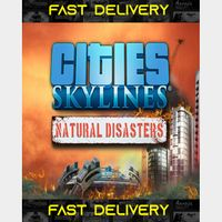 Cities Skylines Natural Disasters   Fast Delivery ⌛  Steam CD Key   Worldwide  