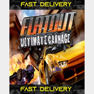 FlatOut Ultimate Carnage | Fast Delivery ⌛| Steam CD Key | Worldwide |