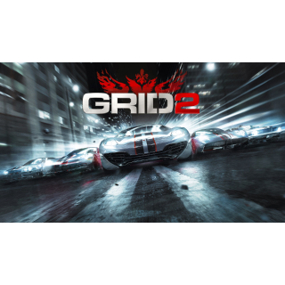 Grid 2 + 2 DLC | Steam CD Key | Worldwide | Instant Delivery