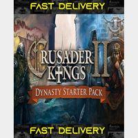 Crusader Kings II - Dynasty Starter Pack | Fast Delivery ⌛| Steam CD Key | Worldwide |