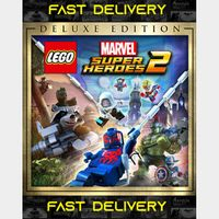 Lego Marvel Superheroes 2 Deluxe Edition| Fast Delivery ⌛| Steam CD Key | Worldwide |
