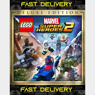 Lego Marvel Superheroes 2 Deluxe Edition | Fast Delivery ⌛| Steam CD Key | Worldwide |