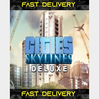 Cities Skylines Deluxe Edition | Fast Delivery ⌛| Steam CD Key | Worldwide |
