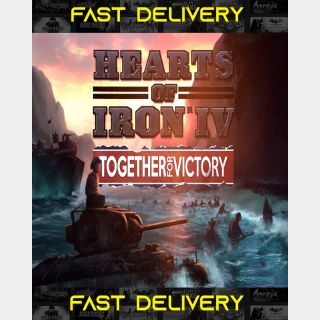 Hearts of Iron IV Together for Victory | Fast Delivery ⌛| Steam CD Key | Worldwide |