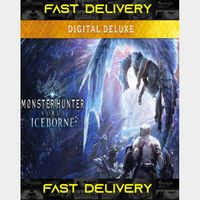Monster Hunter World Deluxe Edition | Fast Delivery ⌛| Steam CD Key | Worldwide |