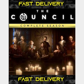 The Council Complete Season| Fast Delivery ⌛| Steam CD Key | Worldwide |