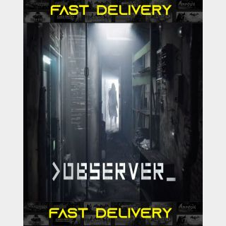 Observer| Fast Delivery ⌛| Steam CD Key | Worldwide |