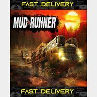 MudRunner| Fast Delivery ⌛| Steam CD Key | Worldwide |