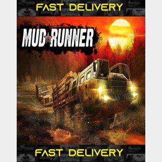 MudRunner  Fast Delivery ⌛  Steam CD Key   Worldwide  