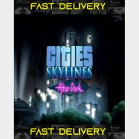 Cities Skylines After Dark   Fast Delivery ⌛  Steam CD Key   Worldwide  