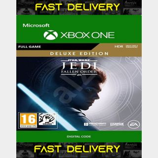 Star Wars Jedi Fallen Order - Deluxe Edition Xbox Live | Fast Delivery ⌛| Xbox One - Xbox Live CD Key | Worldwide |