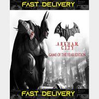 Batman Arkham City - GOTY - Game Of The Year   Fast Delivery ⌛  Origin CD Key   Worldwide  