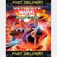 Ultimate Marvel vs Capcom 3  Fast Delivery ⌛  Steam CD Key   Worldwide  