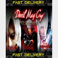 Devil May Cry HD Collection  | Fast Delivery ⌛| Steam CD Key | Worldwide |