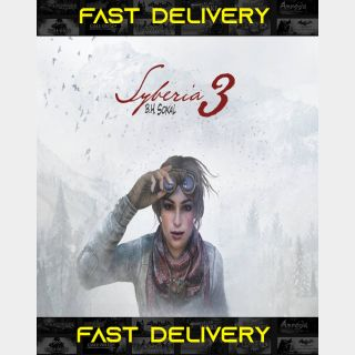 Syberia 3| Fast Delivery ⌛| Steam CD Key | Worldwide |