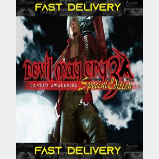 Devil May Cry 3 - Special Edition | Fast Delivery ⌛| Steam CD Key | Worldwide |